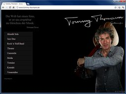 Homepage Gitarrist Tommy Thomann