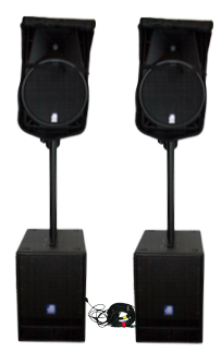 professional Audio dB Opera 410d & Sub12